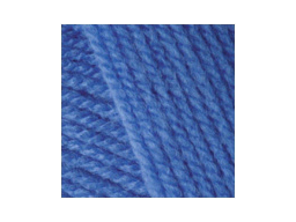 YarnArt Baby 600 - modrá