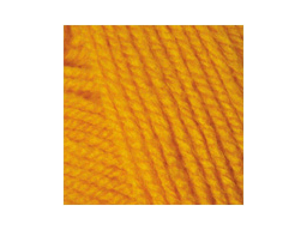 YarnArt Baby 586 - sytě žlutá
