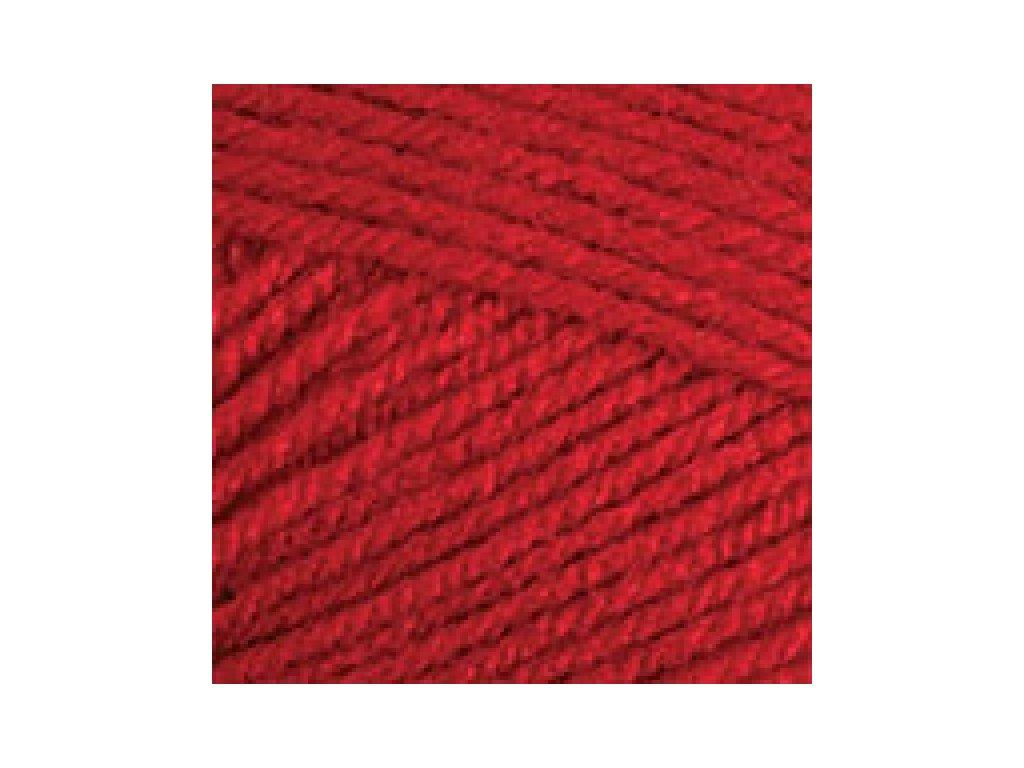 YarnArt Baby 576 - červená
