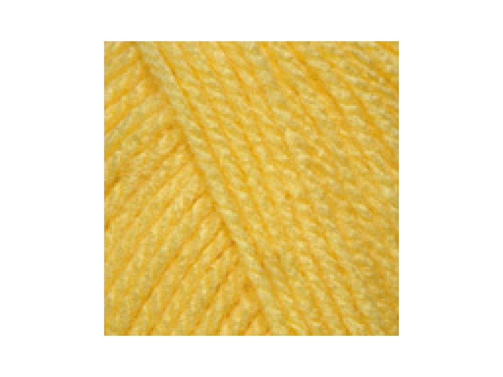 YarnArt Baby 315 - žlutá
