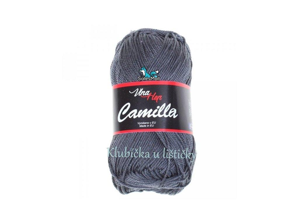 Vlna-Hep Camilla-8236 tmavě šedá