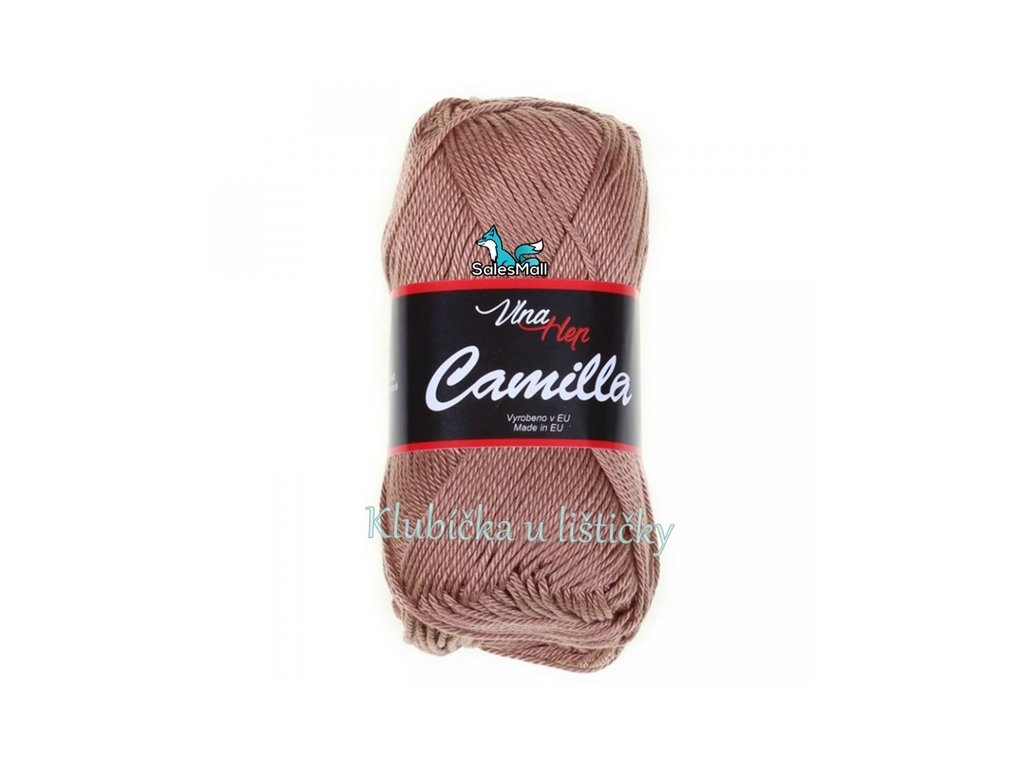 Vlna-Hep Camilla-8217 béžovo hnědá