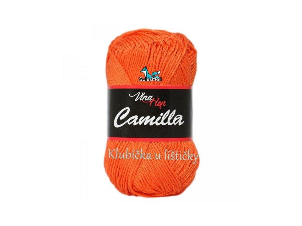 Vlna-Hep Camilla-8194 oranžová