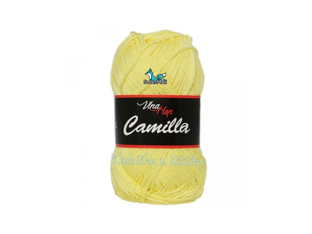 Vlna-Hep Camilla-8183-světle žlutá