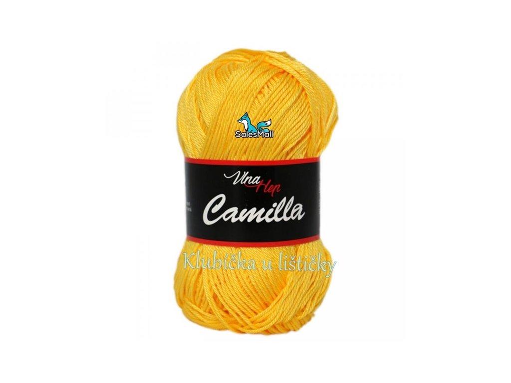 Vlna-Hep Camilla-8180-zlatá žlutá