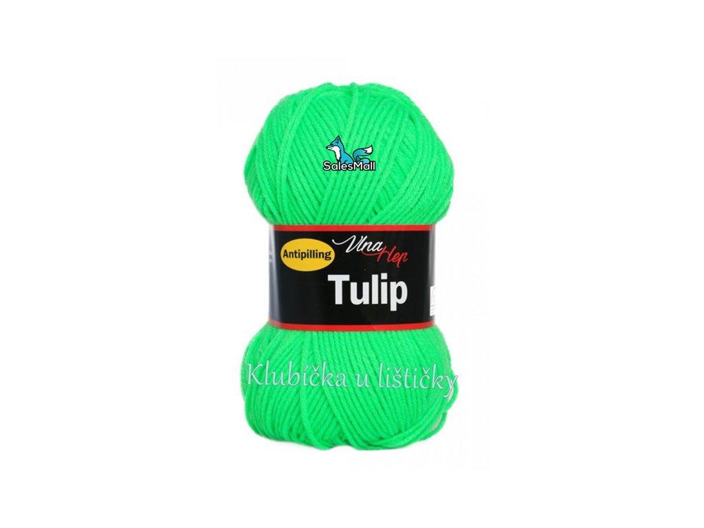 Vlna-Hep Tulip 4313-neonově zelená