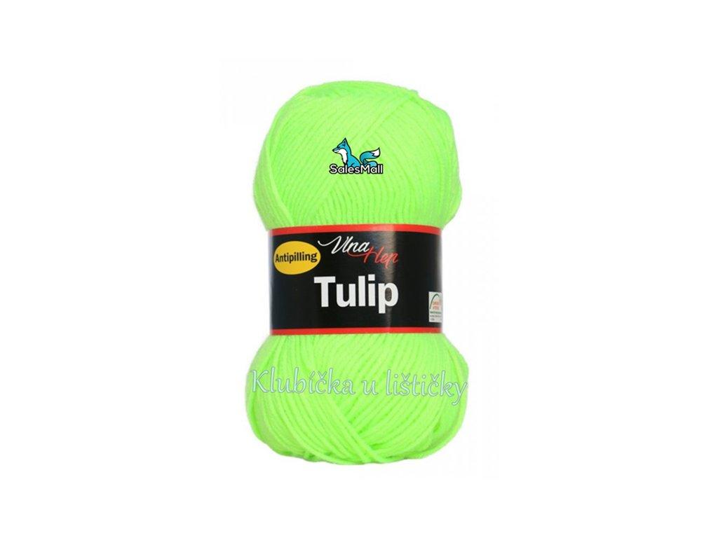 Vlna-Hep Tulip 4310-neonově zelenožlutá