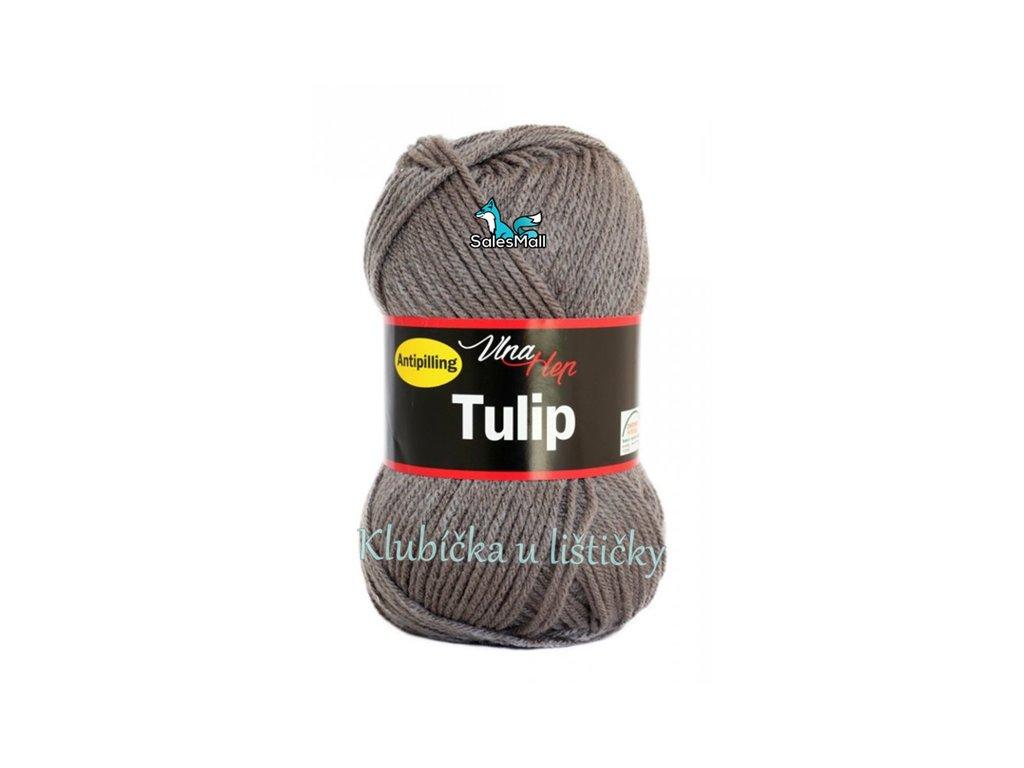 Vlna-Hep Tulip 4235- šedá