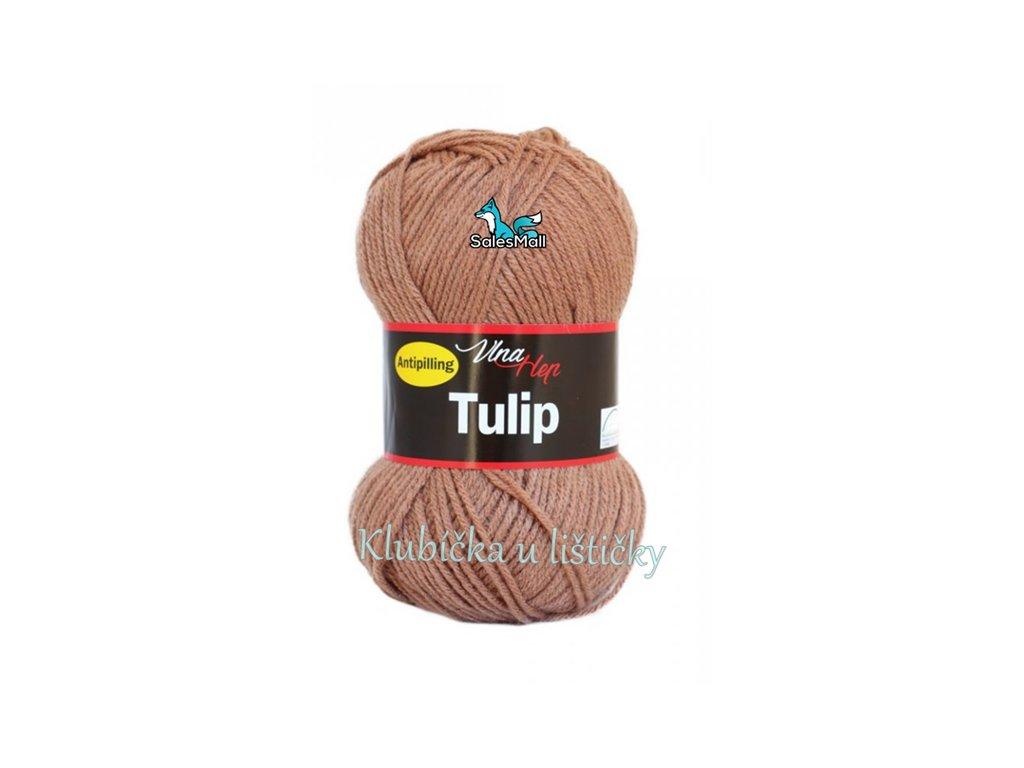 Vlna-Hep Tulip 4223-hnědá