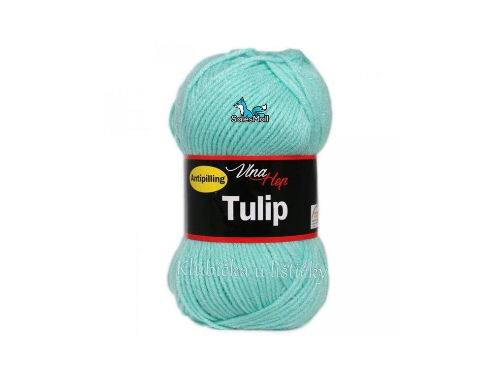 Vlna-Hep Tulip 4136-světle tyrkysová