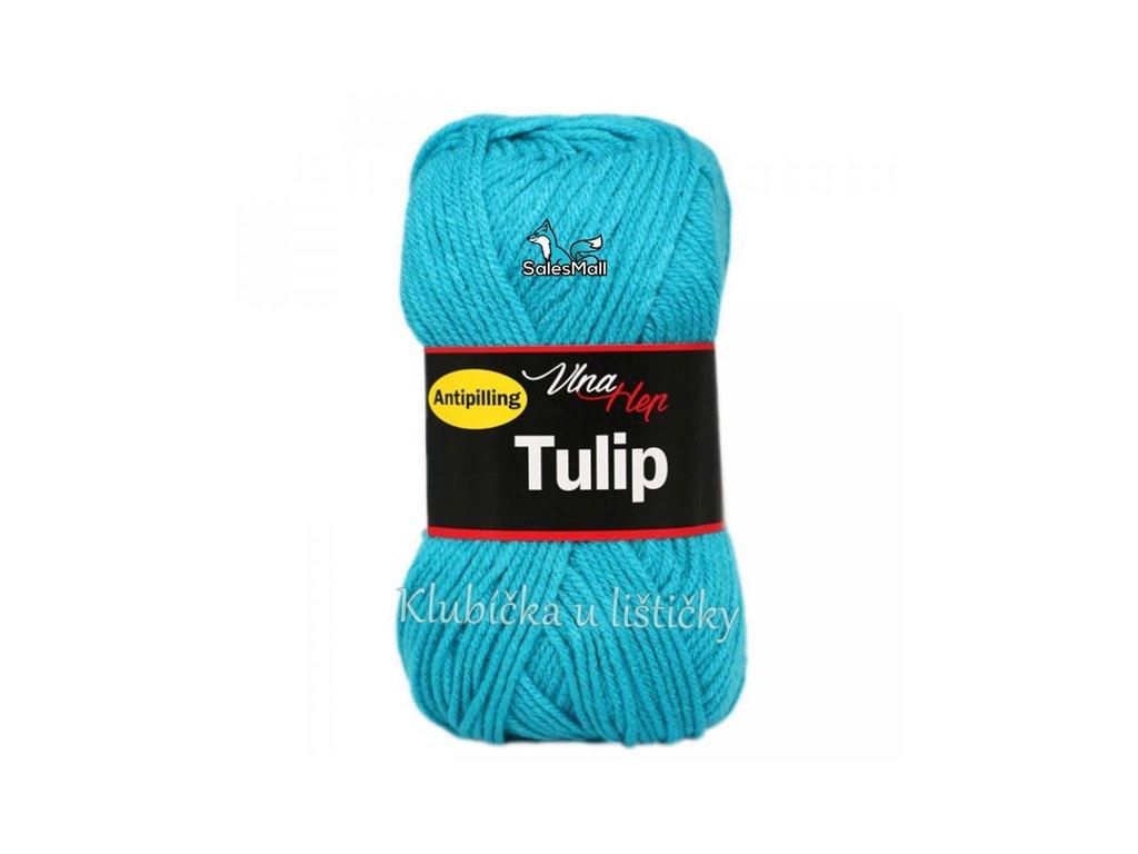 Vlna-Hep Tulip 4124-tyrkysová