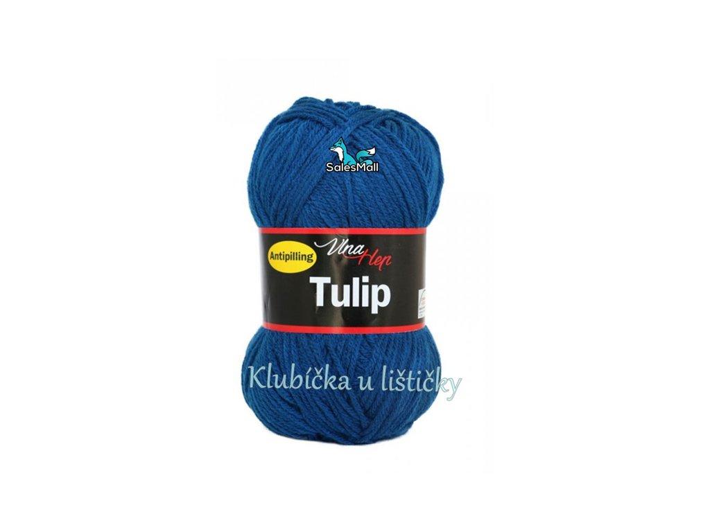 Vlna-Hep Tulip 4103-modrá