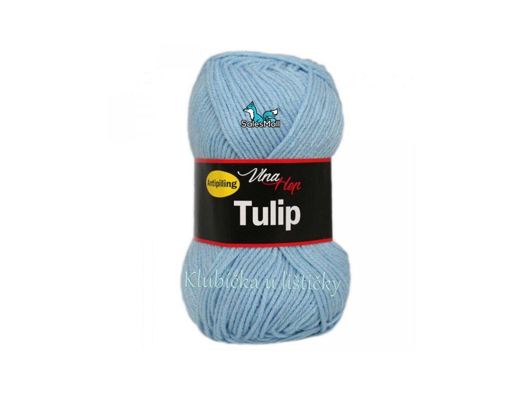 Vlna-Hep Tulip 4083-bledě modrá