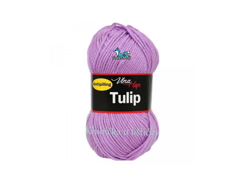 Vlna-Hep Tulip 4055-světle fialová