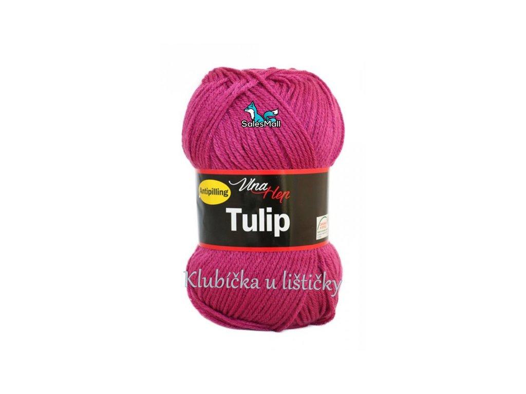 Vlna-Hep Tulip 4048-tmavá růžová