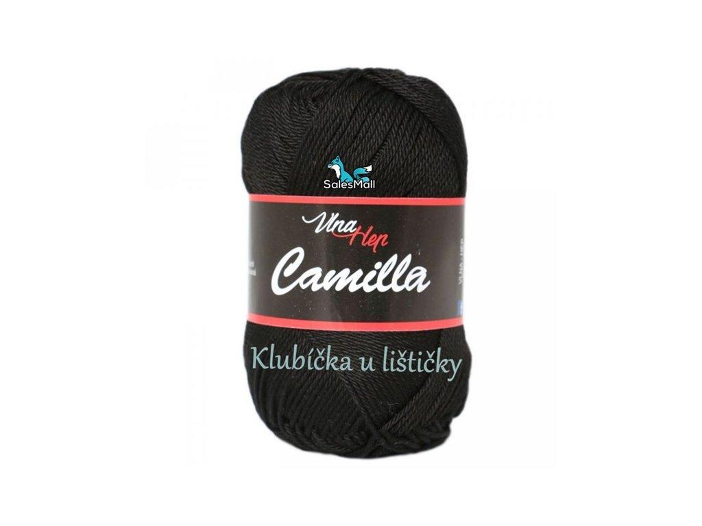 Vlna-Hep Camilla-8001 černá
