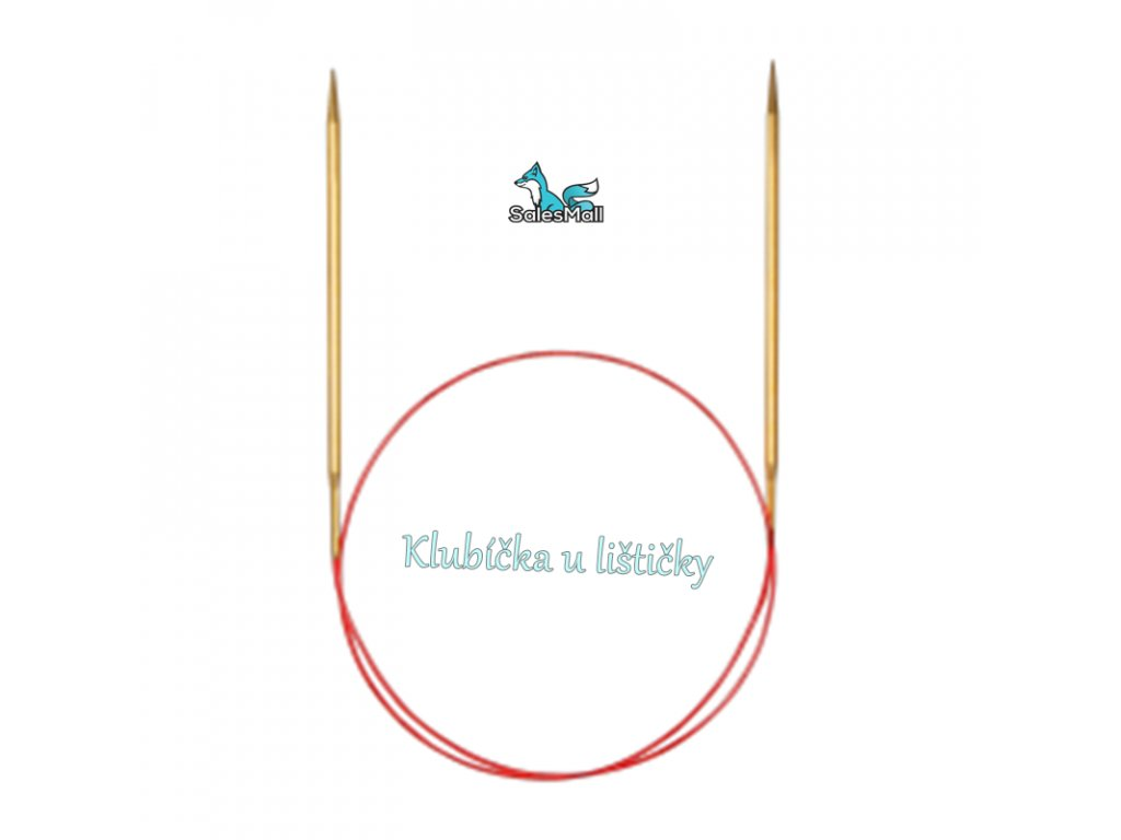 Jehlice kruhové Addi Lace 60cm/5,0mm