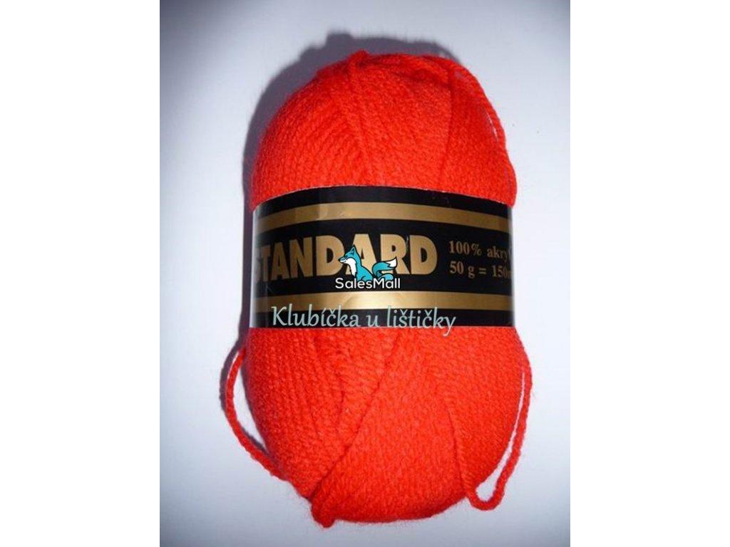 Příze Standard 165 - červená