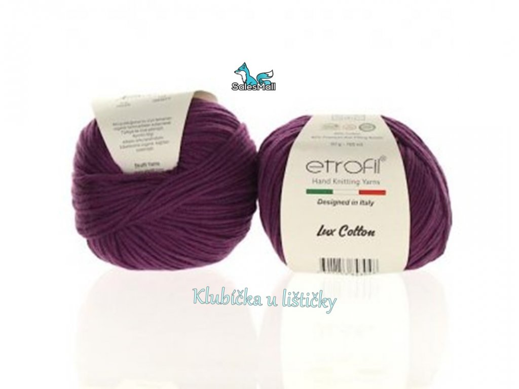 Etrofil Bambino Lux Cotton 70329 - fialová