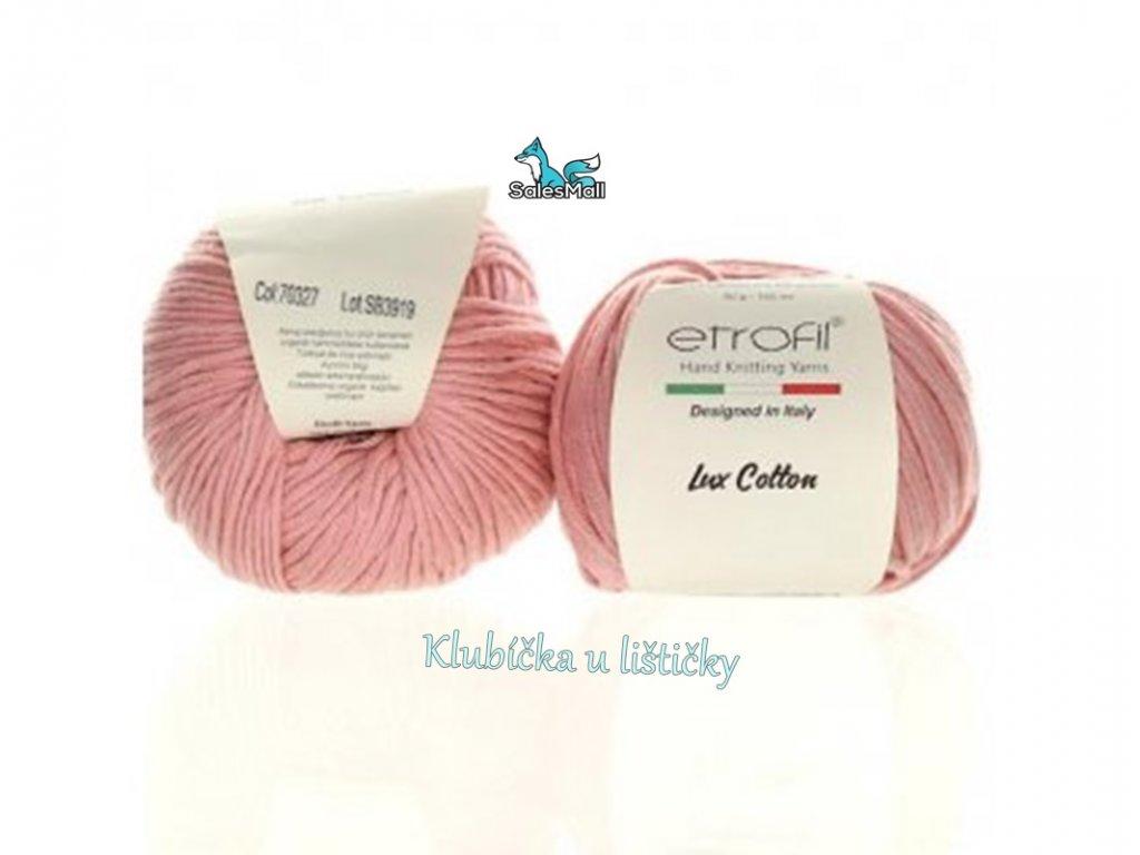 Etrofil Bambino Lux Cotton 70327 - středně růžová