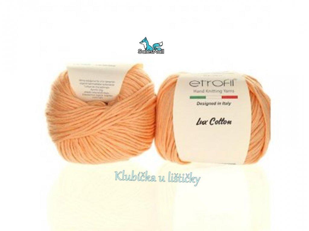 Etrofil Bambino Lux Cotton 70325-světle lososová
