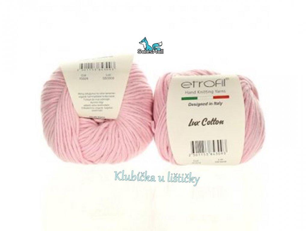 Etrofil Bambino Lux Cotton 70324-světle růžová