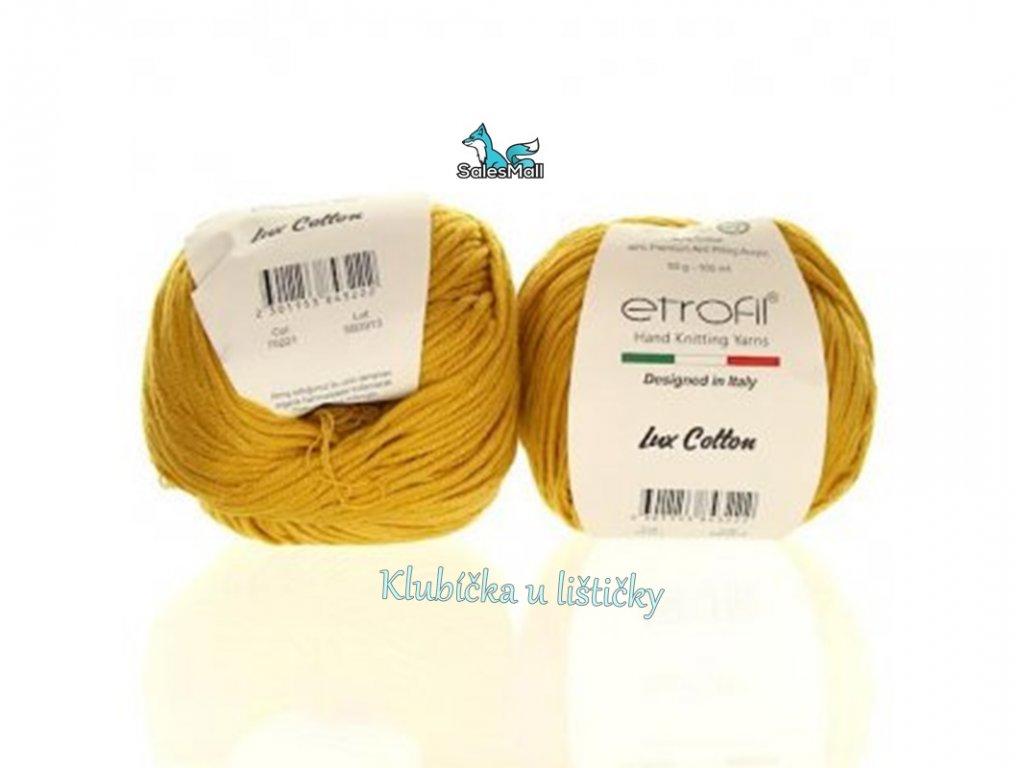 Etrofil Bambino Lux Cotton 70221 - hořčicová