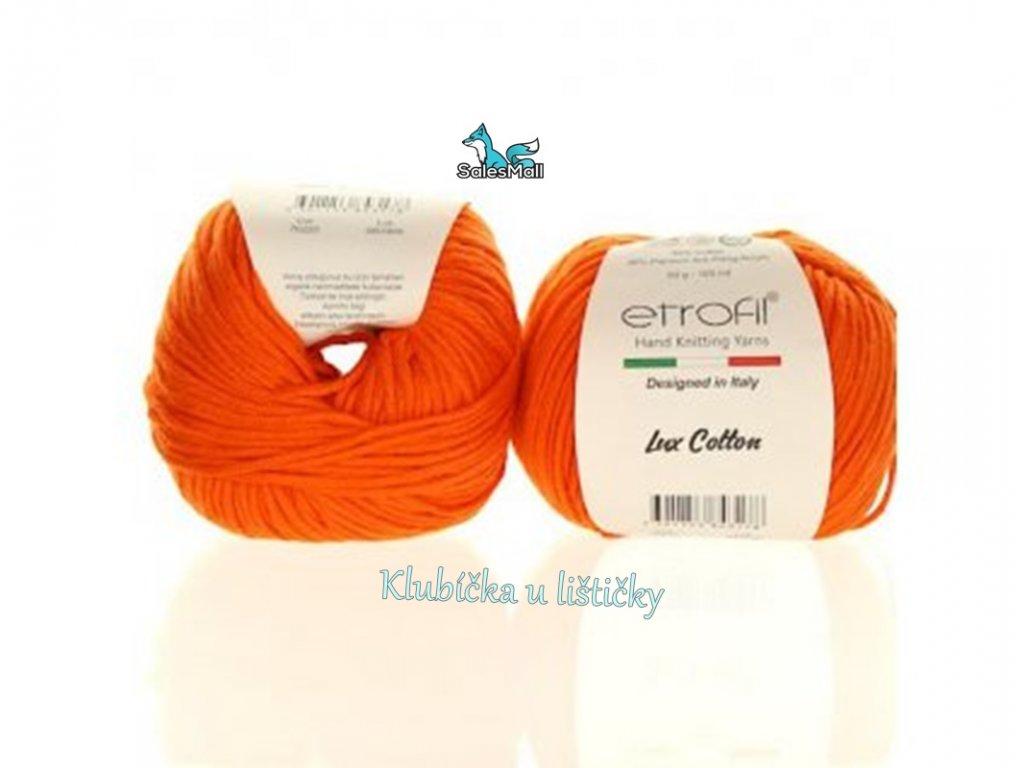 Etrofil Bambino Lux Cotton 70220-oranžová