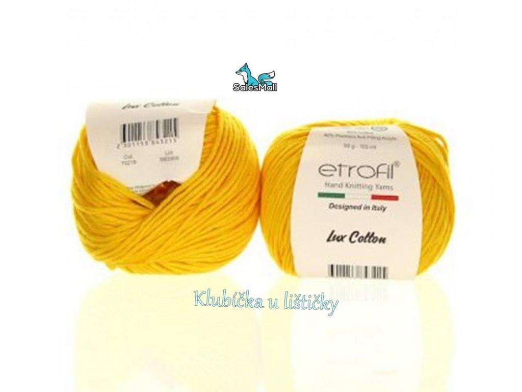 Etrofil Bambino Lux Cotton 70219 - sytě žlutá