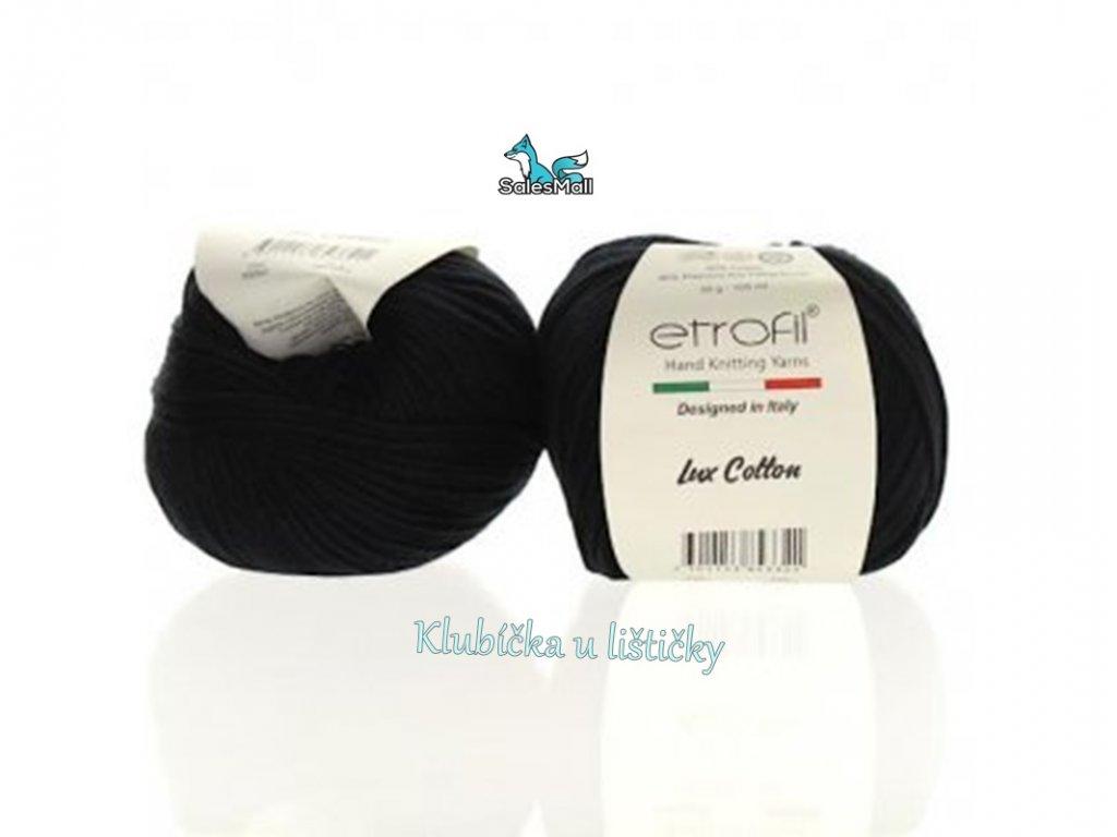 Etrofil Bambino Lux Cotton 70093-černá