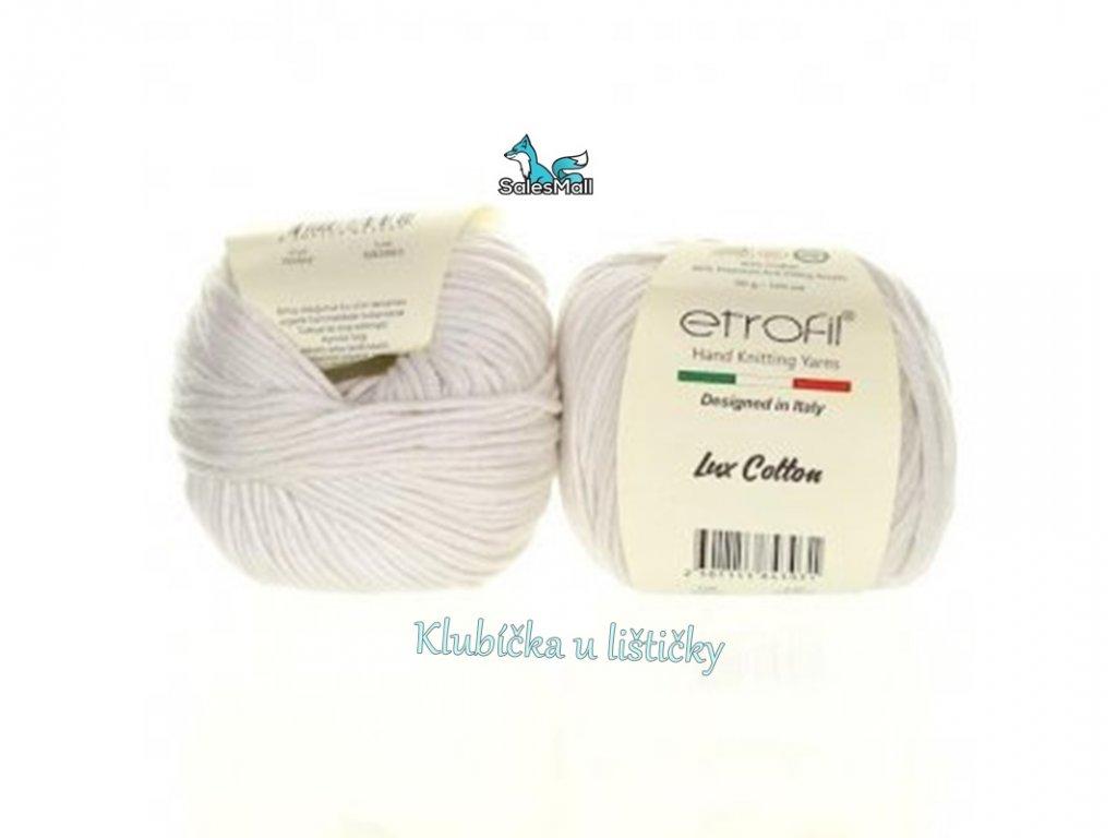 Etrofil Bambino Lux Cotton 70022-bílá