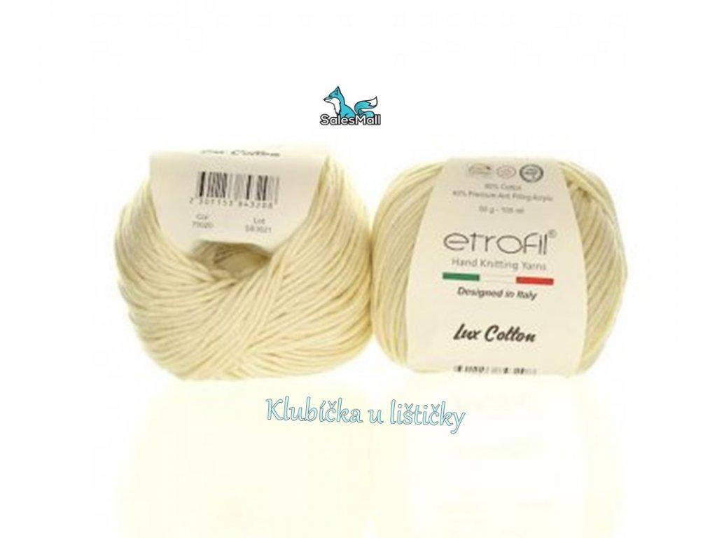 Etrofil Bambino Lux Cotton 70020 -světle béžová