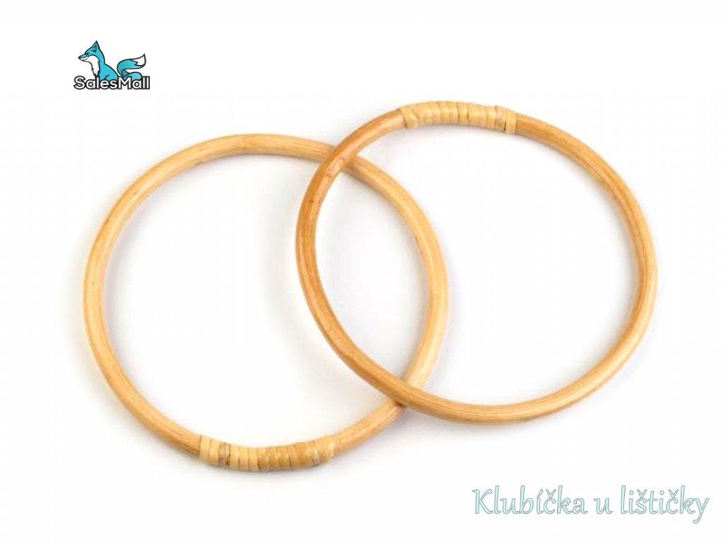 Ucha bambusová průměr 17cm(2ks-1pár)