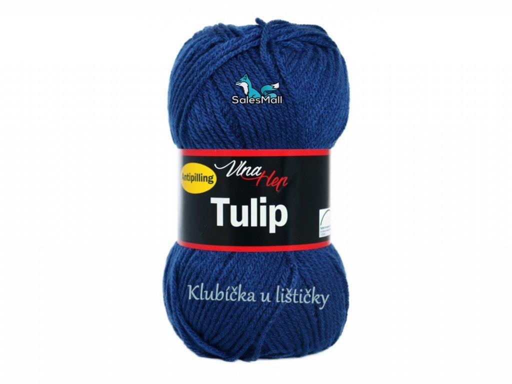 Vlna-Hep Tulip 4108 - tmavě modrá