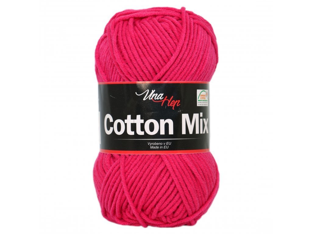 Vlna-Hep Cotton Mix 8036 - malinová