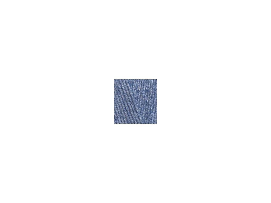 Cotton Gold Hobby modrá melange - 374