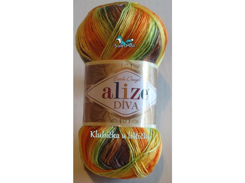 Alize Diva Batik - 6828