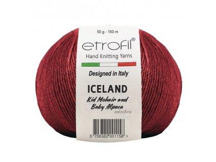 Etrofil Iceland bordó 70335