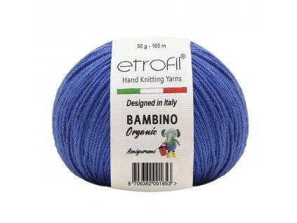 Bambino Organic  tmavě modrá 70515