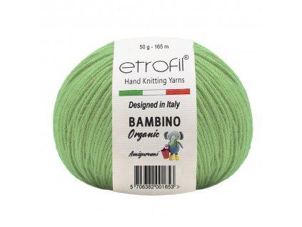 Bambino Organic  burákově zelená 70404