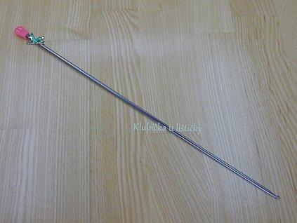 Háček pro tuniské háčkování 35cm-3,50mm
