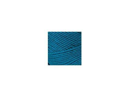 Příze Nako Saten 10328 - tmavá tyrkysová