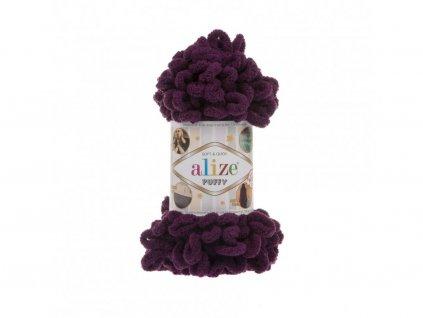 Alize Puffy 111 - tmavě fialová