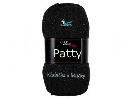 Vlna-Hep příze Patty - 4001 černá