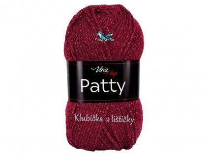 Vlna-Hep příze Patty - 4024 bordó