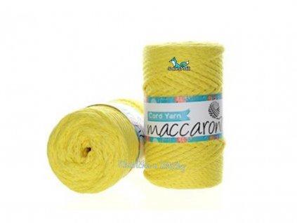 cord yarn 07 žlutá