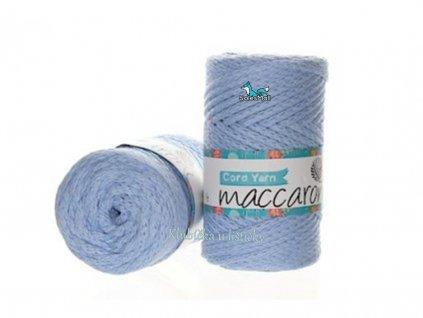 cord yarn 10 světle modrá