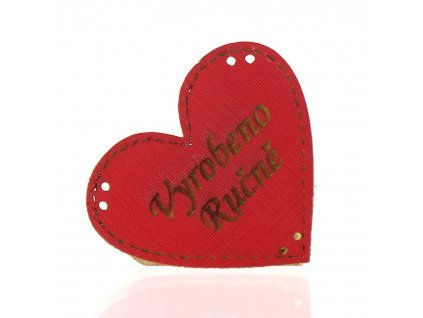 17925 990201 ng kozenka cervena srce vyrobeno rucne