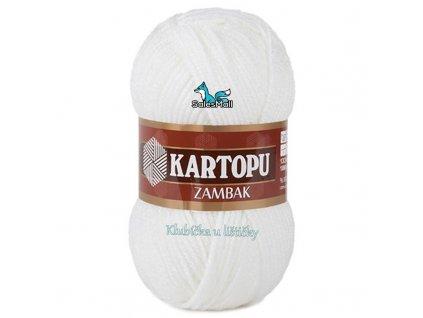 Příze Kartopu Zambak 10 - bílá