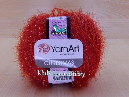 YarnArt Christmas 11 - červená